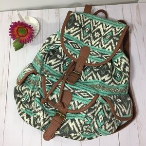 Mossimo Supply Co. Aztec Print Backpack